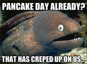 Pancake pun